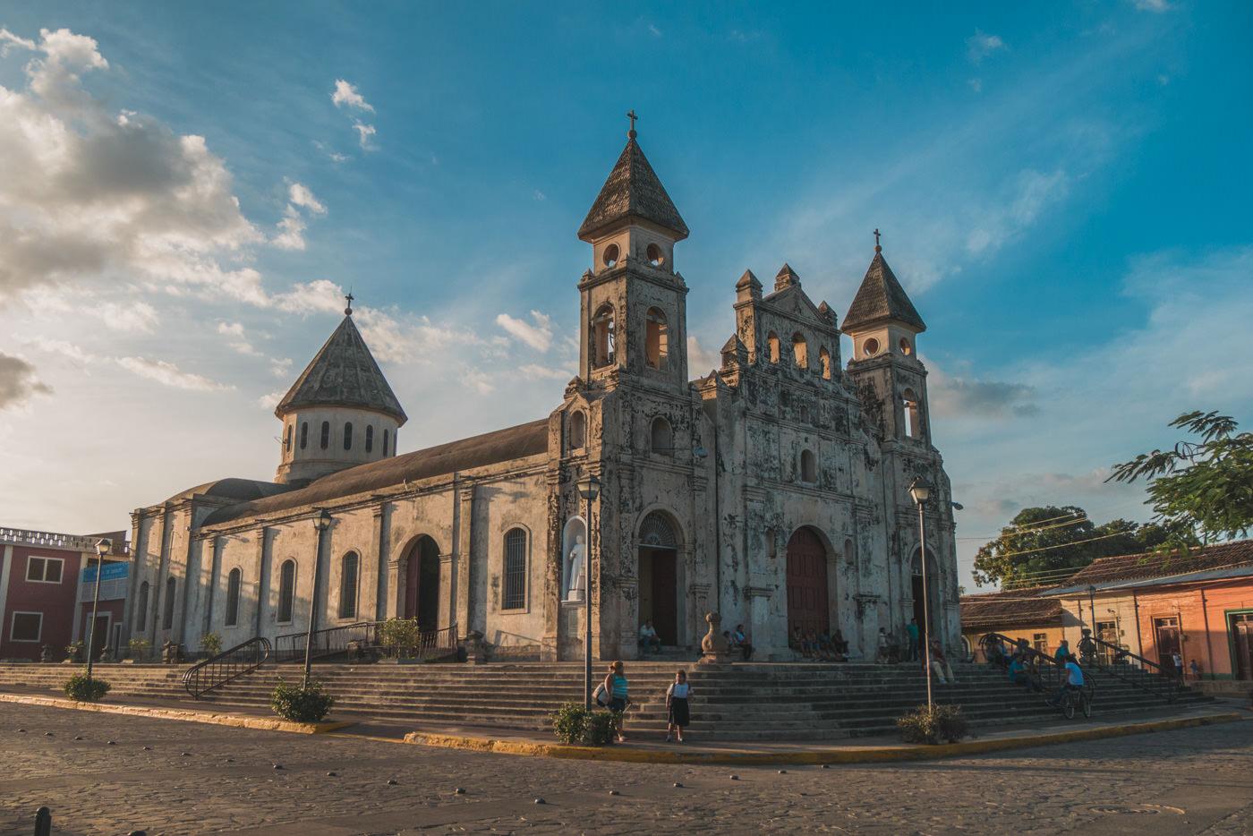 Kirche in Granad, Nicaragua