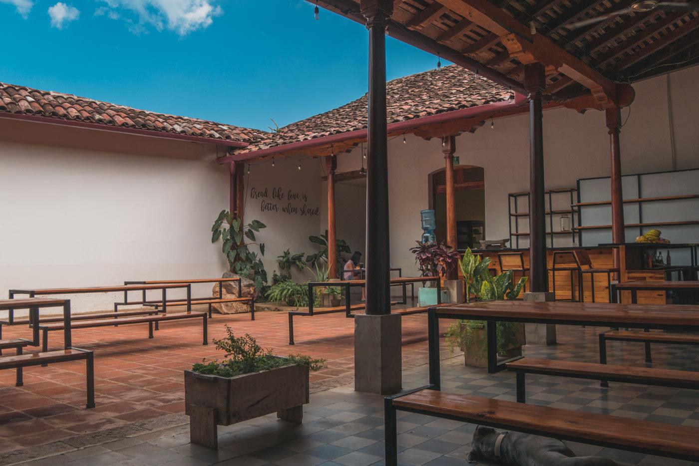 Unser Lieblingscafé Pan de Vida in Granada
