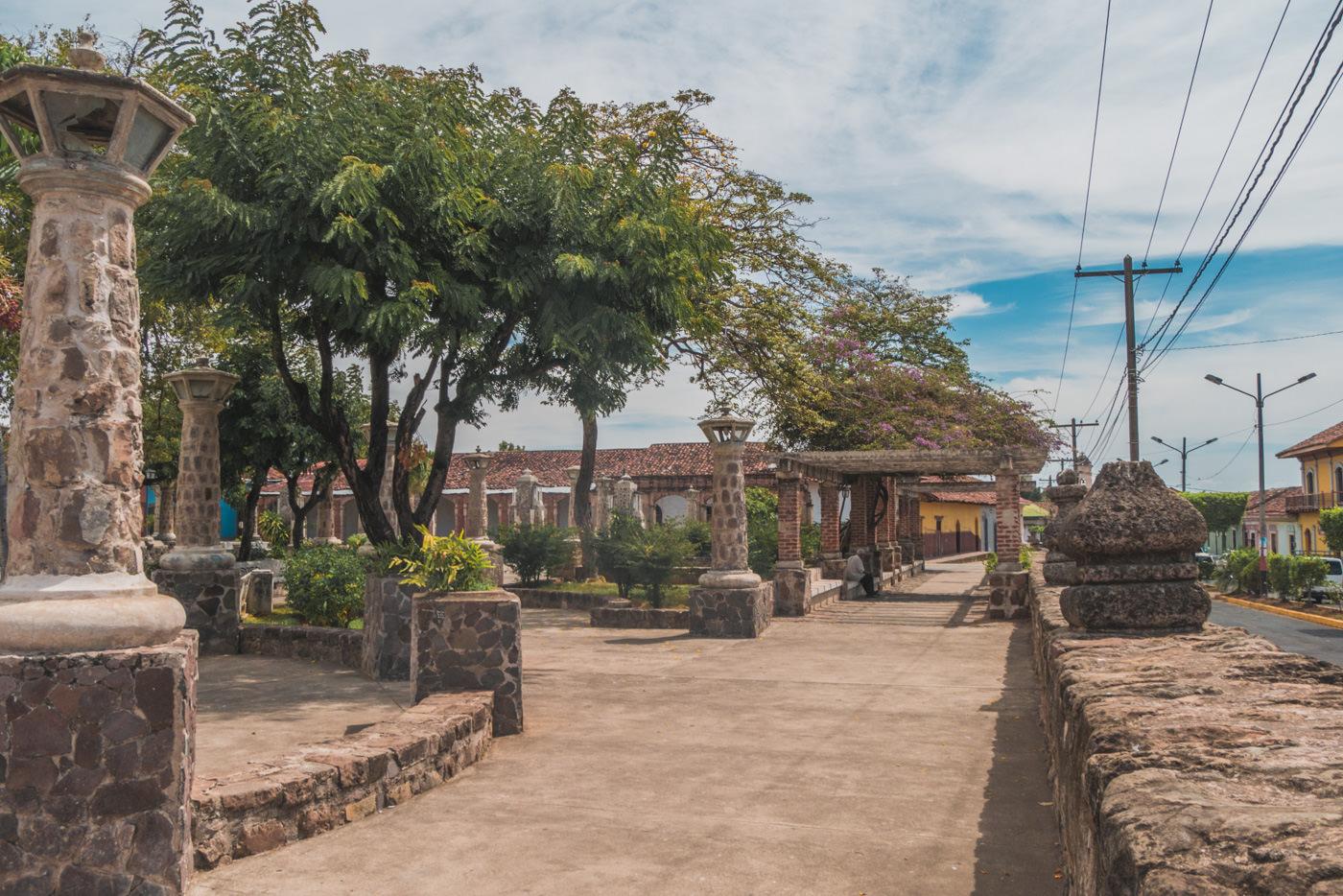 Parque Xalteva in Granada, Nicaragua