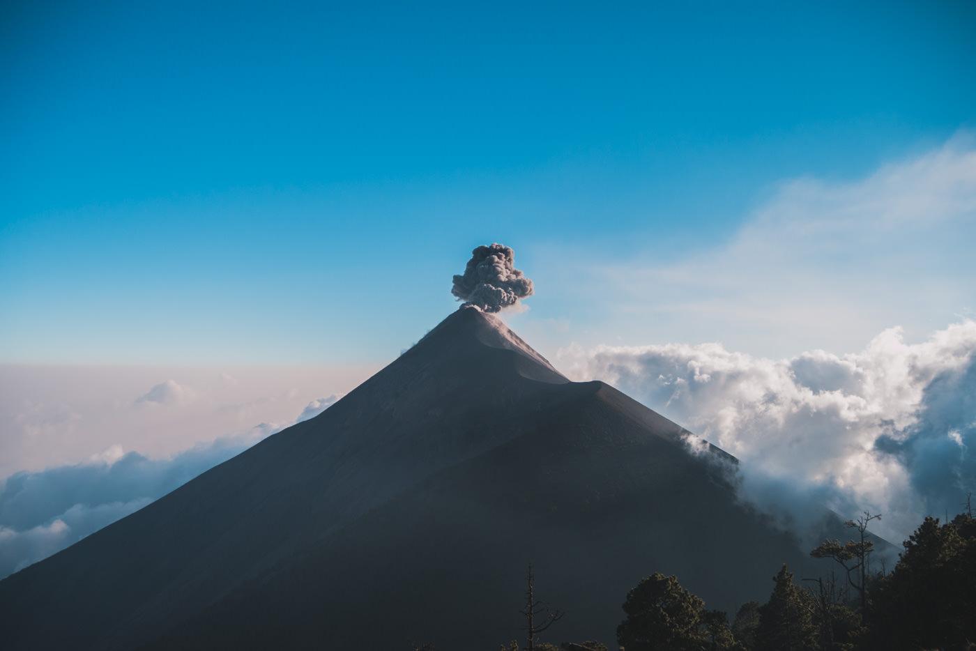 Vulkan  Acatenango – Ein Erlebnis für die Ewigkeit!