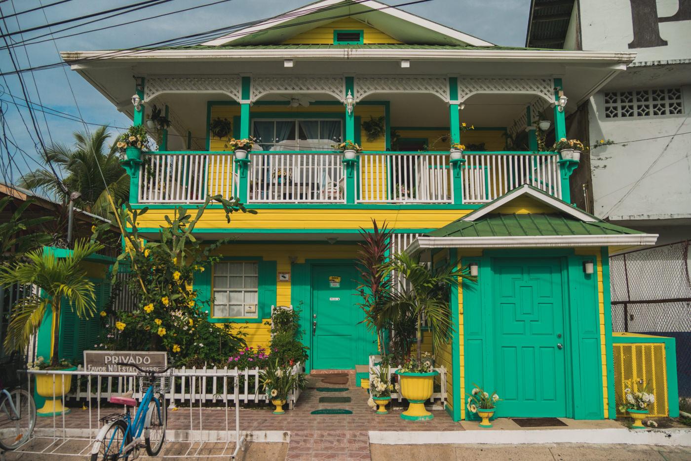Haus auf der Isla Colon, Bocas del Toro