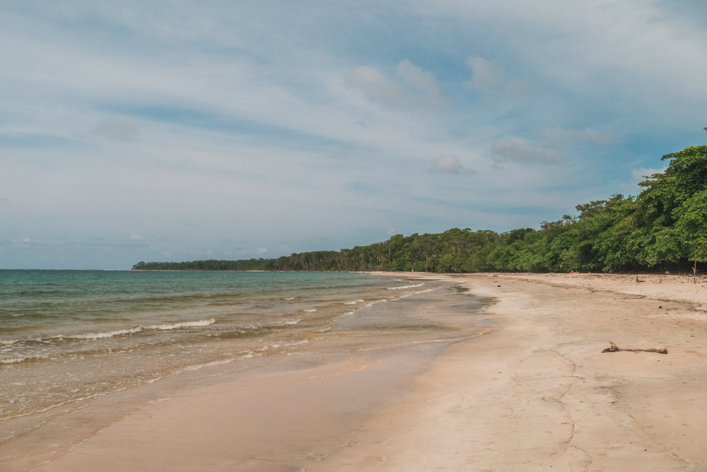 Strand im Cahuita Nationalpark in Costa Rica