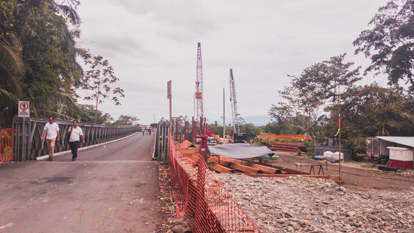 Brücke zwischen Costa Rica und Panama