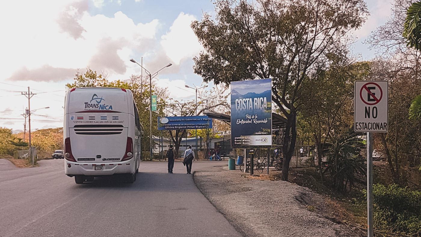 Grenzübertritt zu Fuß von Nicaragua nach Panama