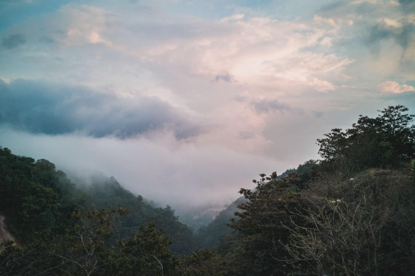 Ausblick von Santa Elena