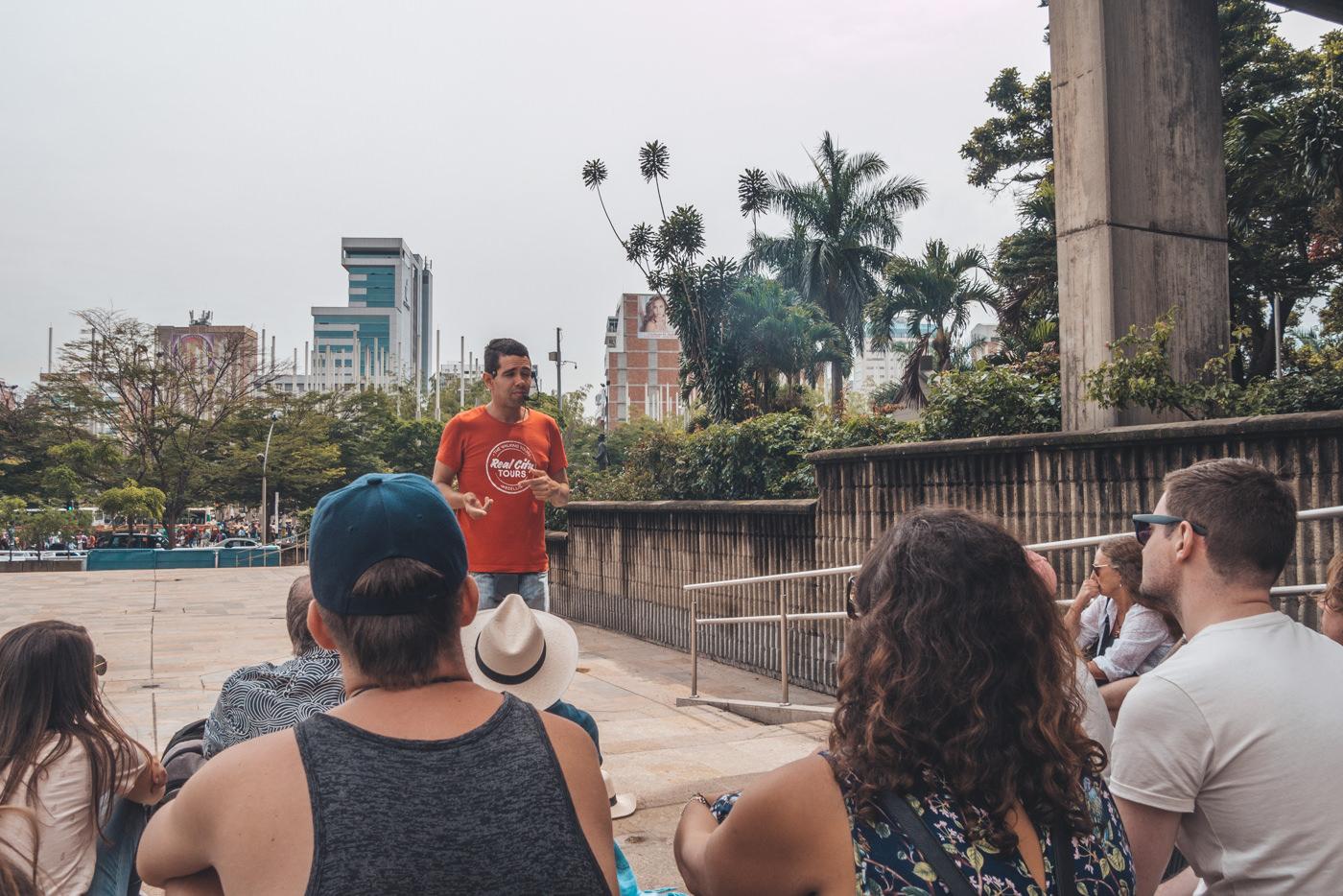 Freewalking Tour durch Medellín mit Realcity Tours