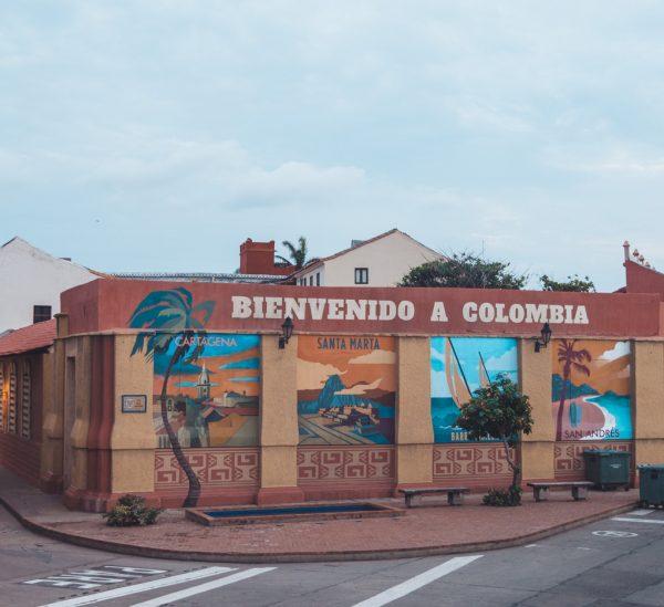 Unsere Route durch Kolumbien