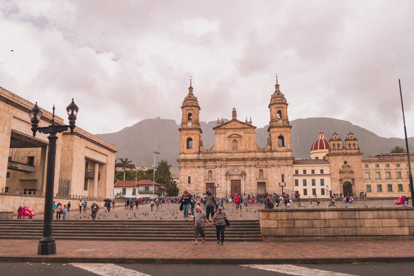 Die Altstadt Bogotá's - La Candelaria