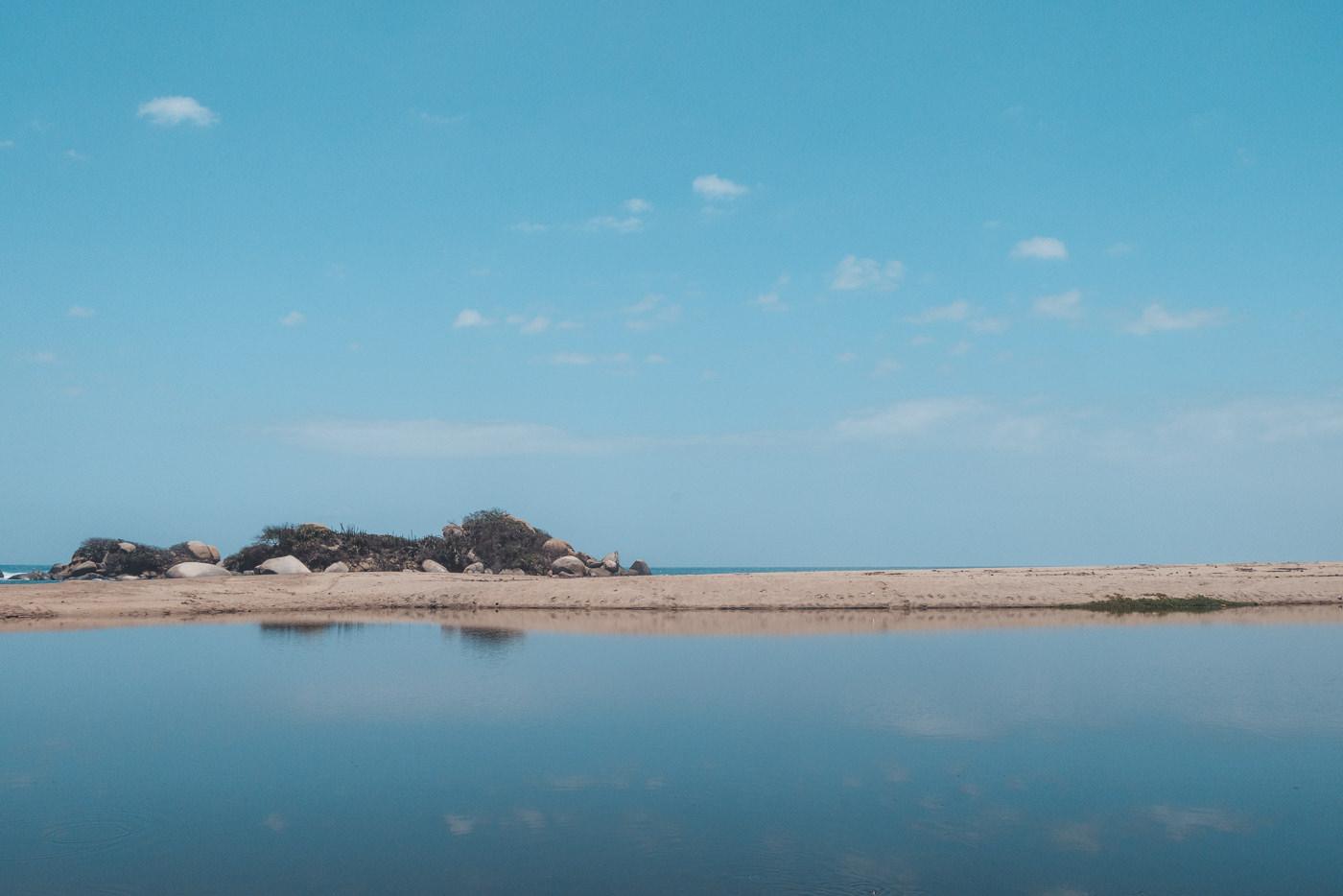 Meer und Strand im Tayrona Nationalpark