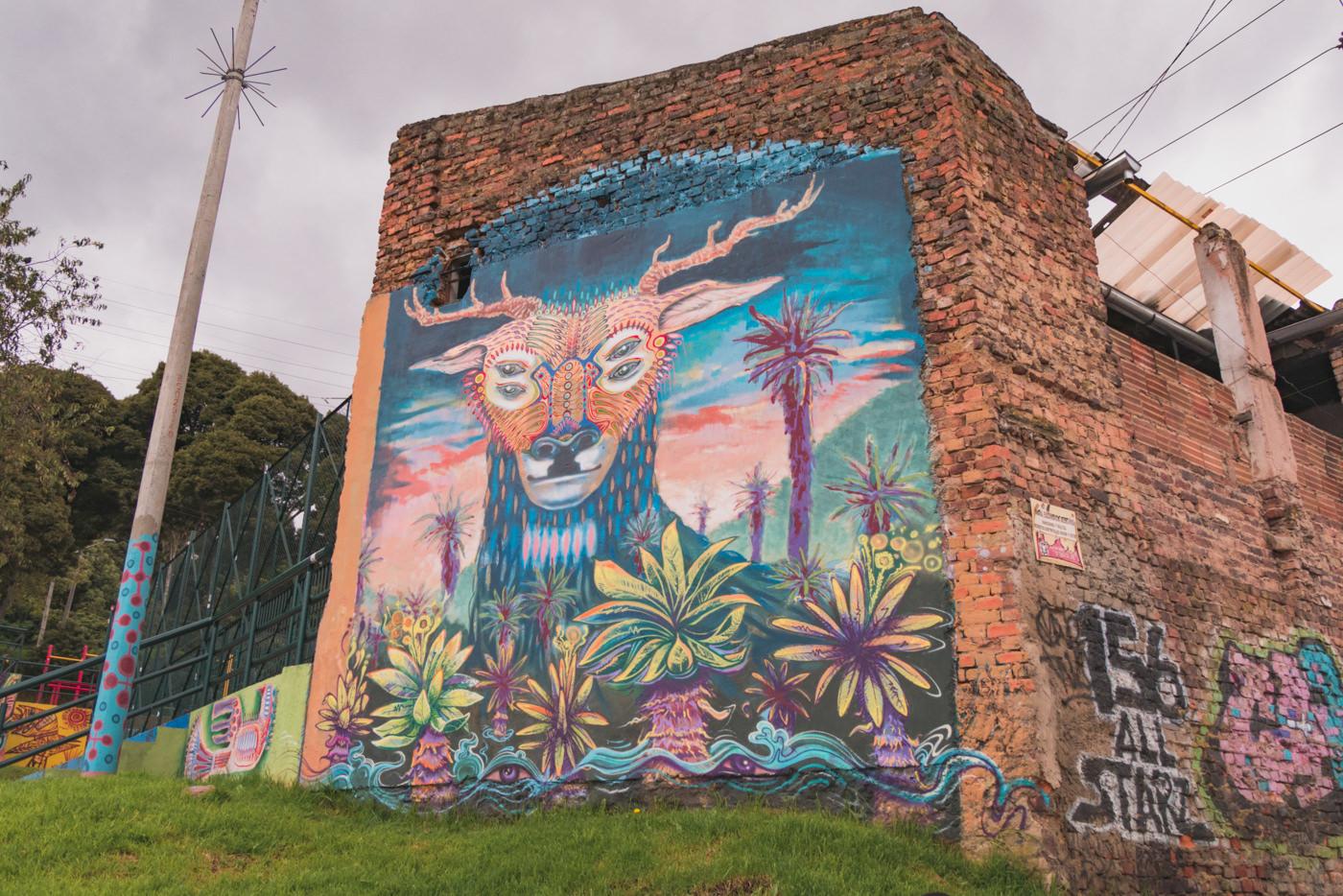 Streetart in Bogotá