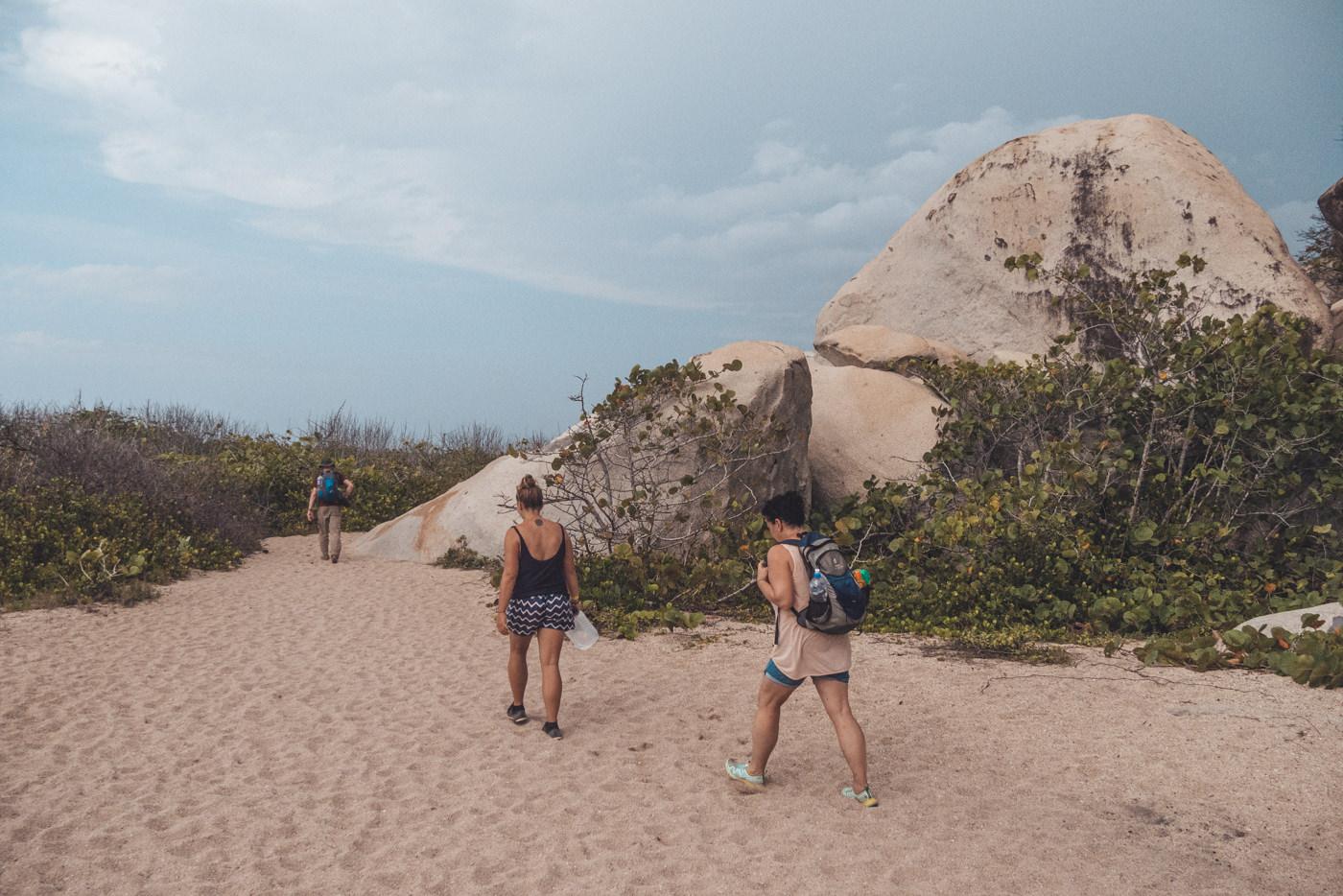Wandern im Tayrona Nationalpark