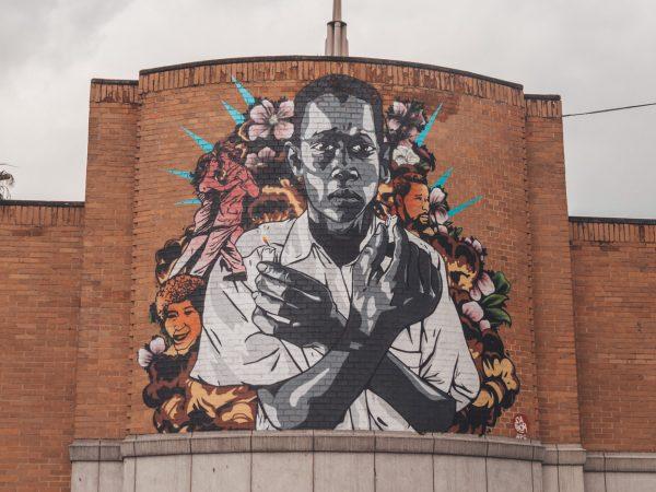 Streetart in der Stadt Medellín