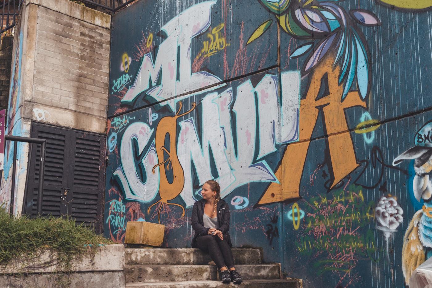 Meine Comuna 13 - Medellin - Kolumbien