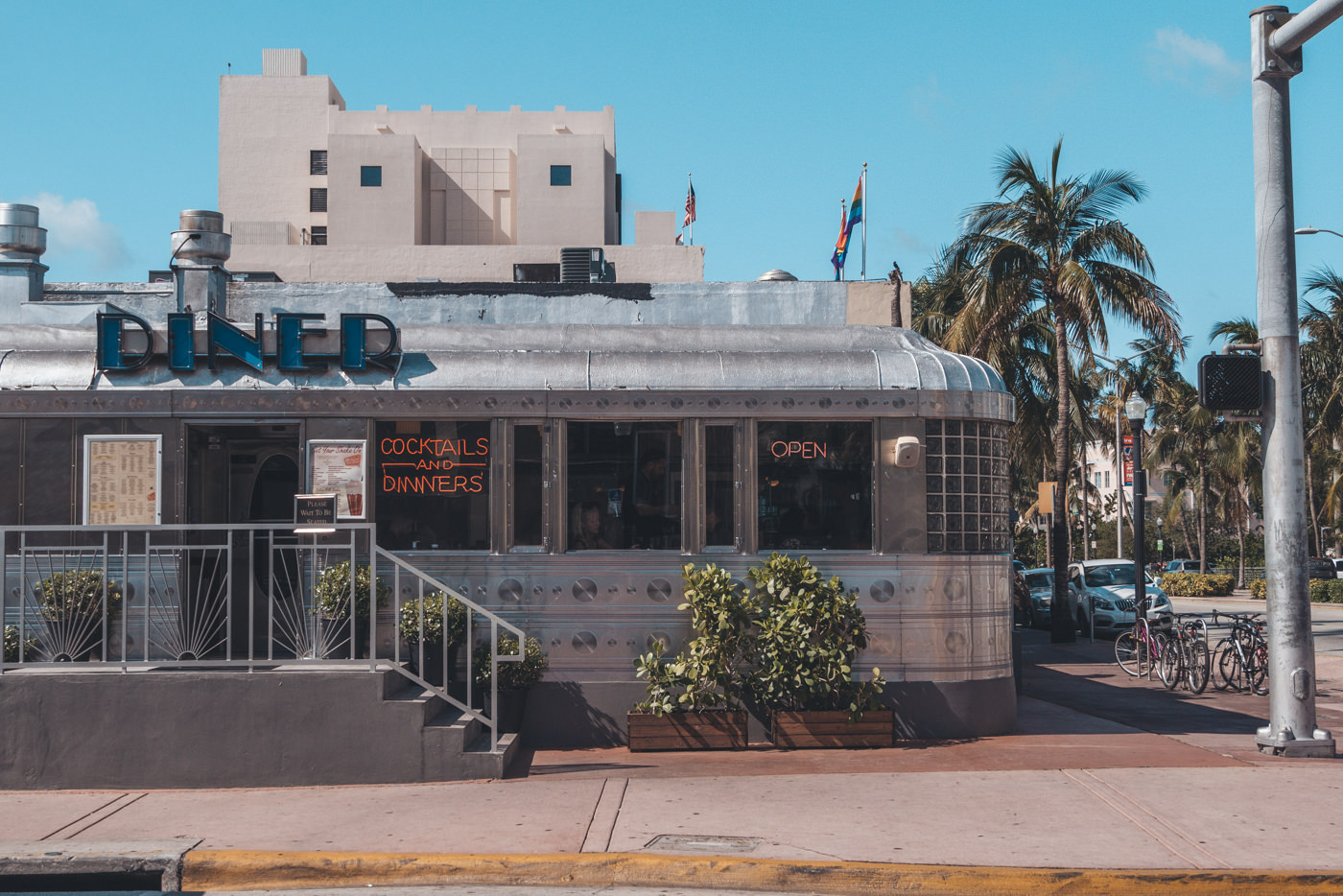American Diner in Miami South Beach