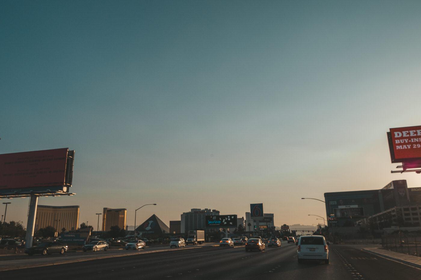 Highway nach Las Vegas
