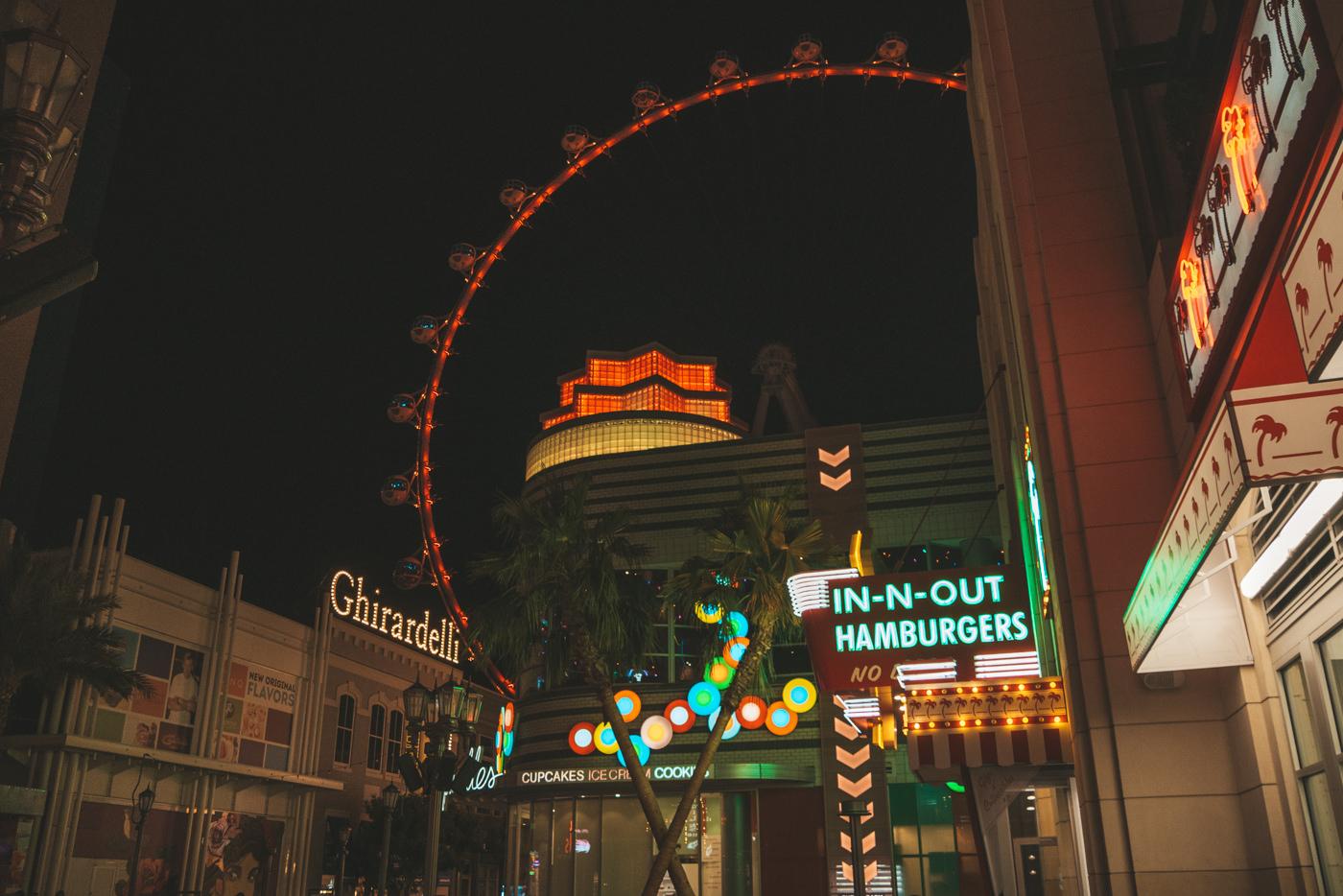 IN N OUT Burger in Las Vegas