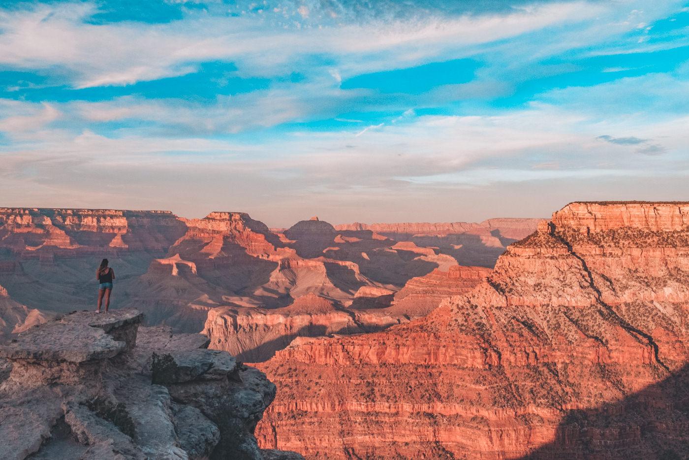 Julia am Grand Canyon South Rim