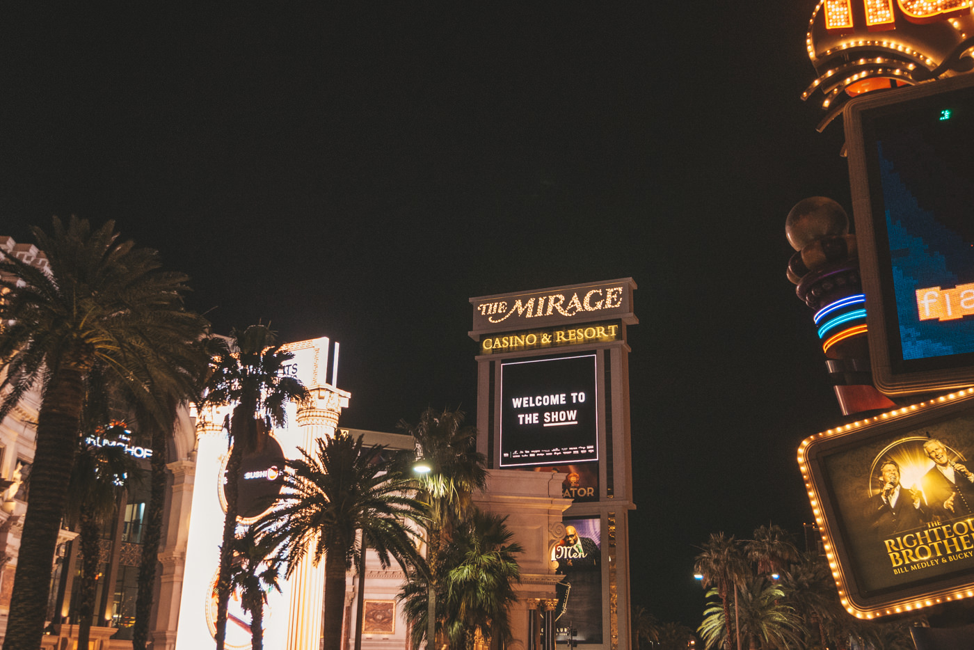 The Mirage Hotel und Casino in Las Vegas