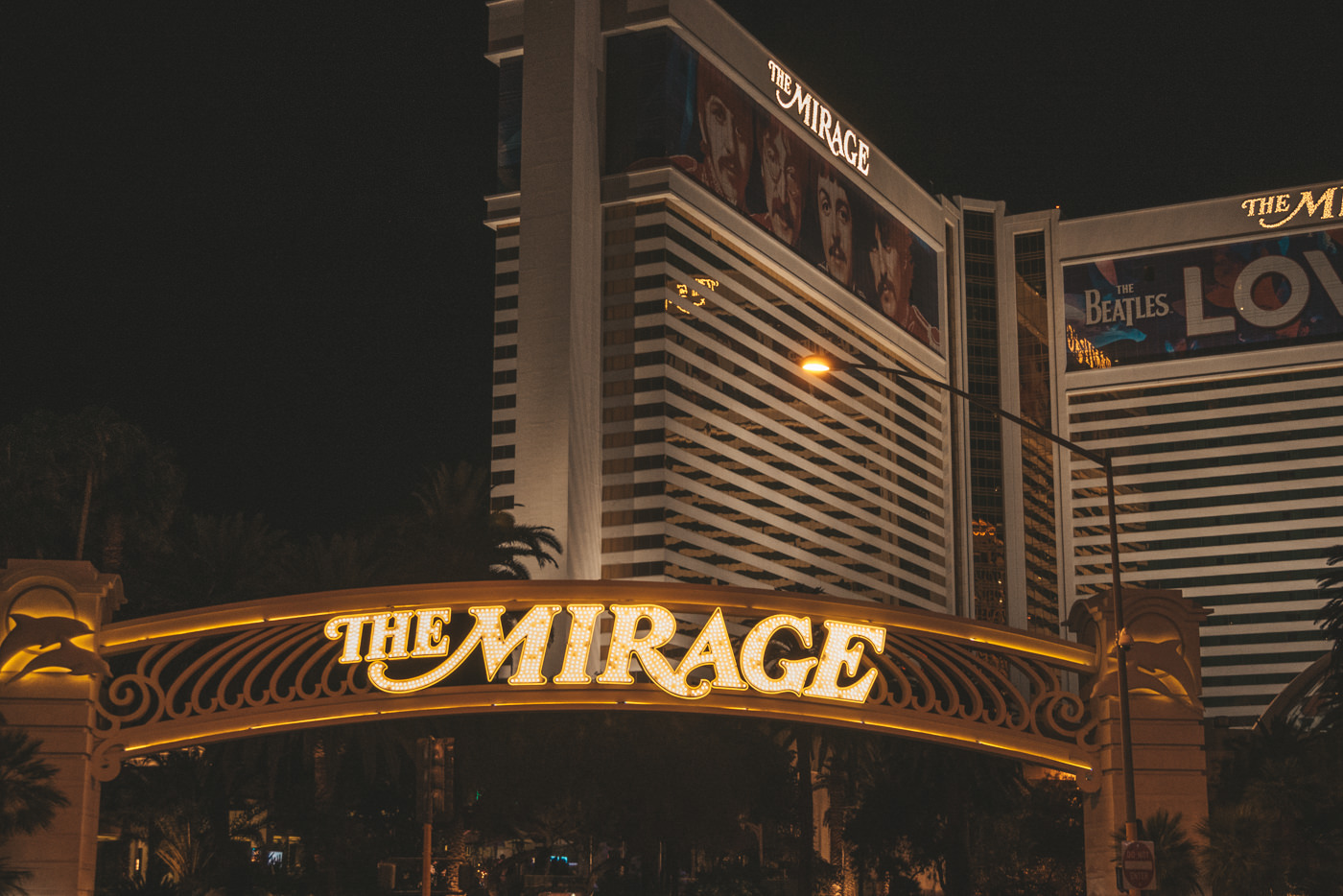 The Mirage Hotel am Strip in Las Vegas