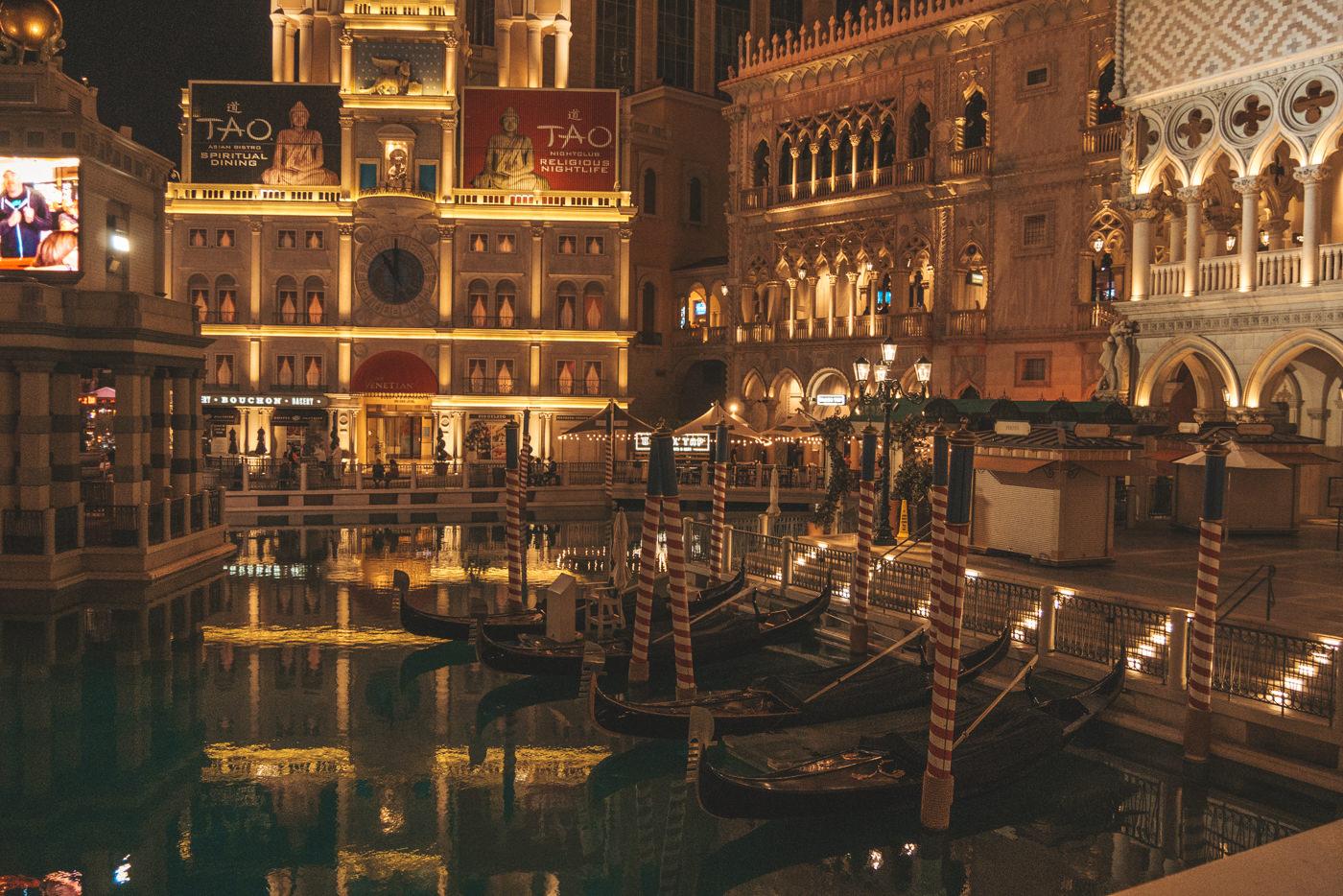 The Ventetian Hotel am Strip Las Vegas