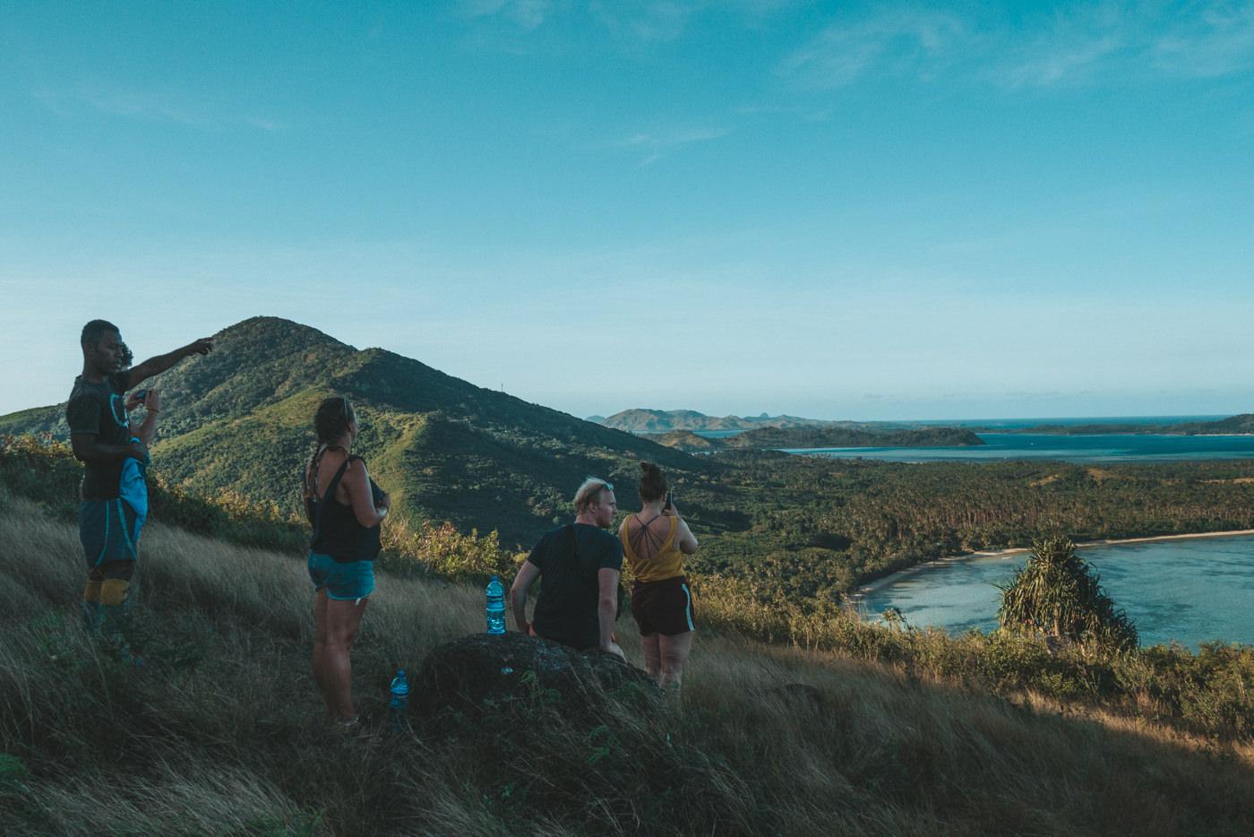 Ausflug nach Goat Island auf den Fidschis