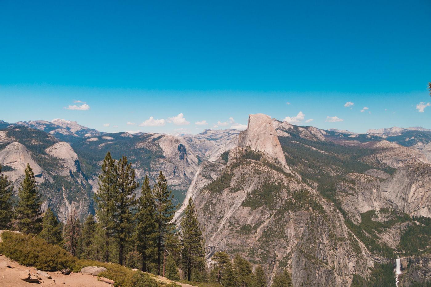 Ausblick im Yosemite Nationalpark