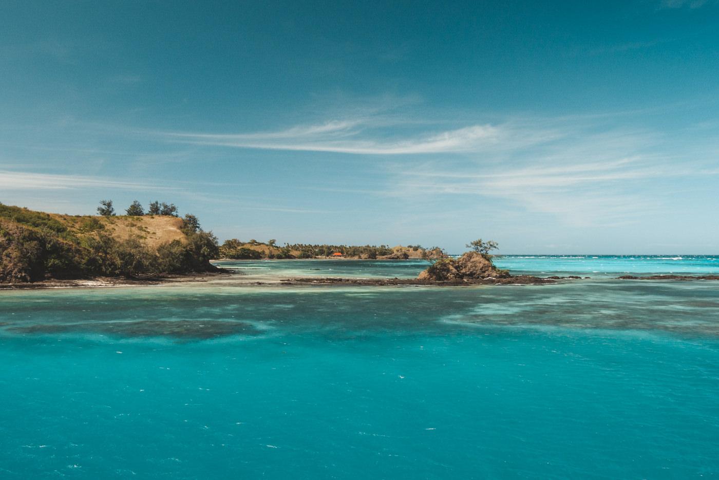 Blue Lagoon auf den Fidschis