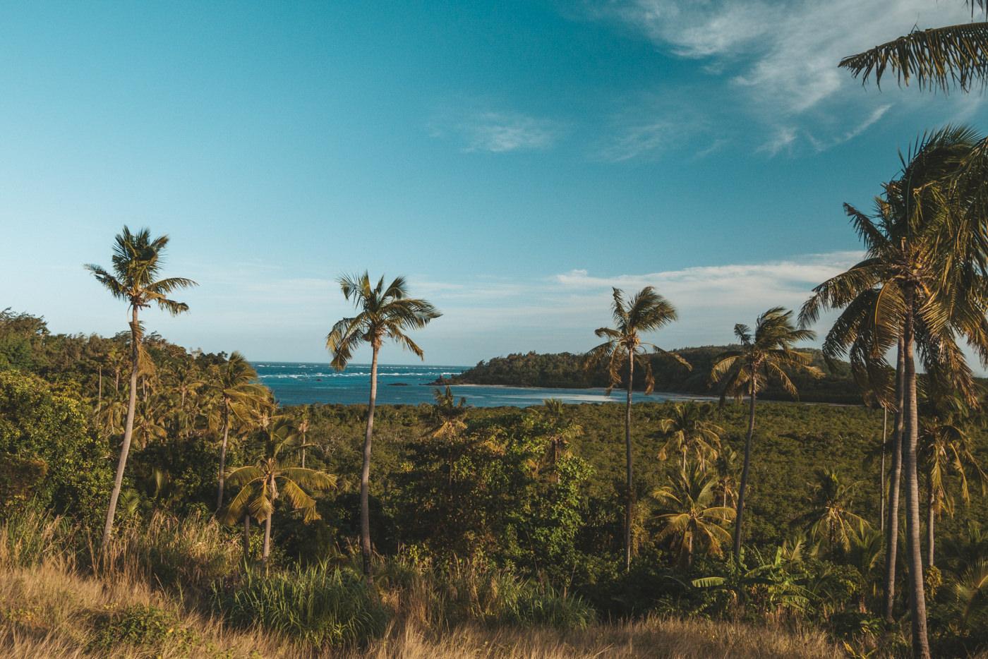 Meerblick auf den Fidschis