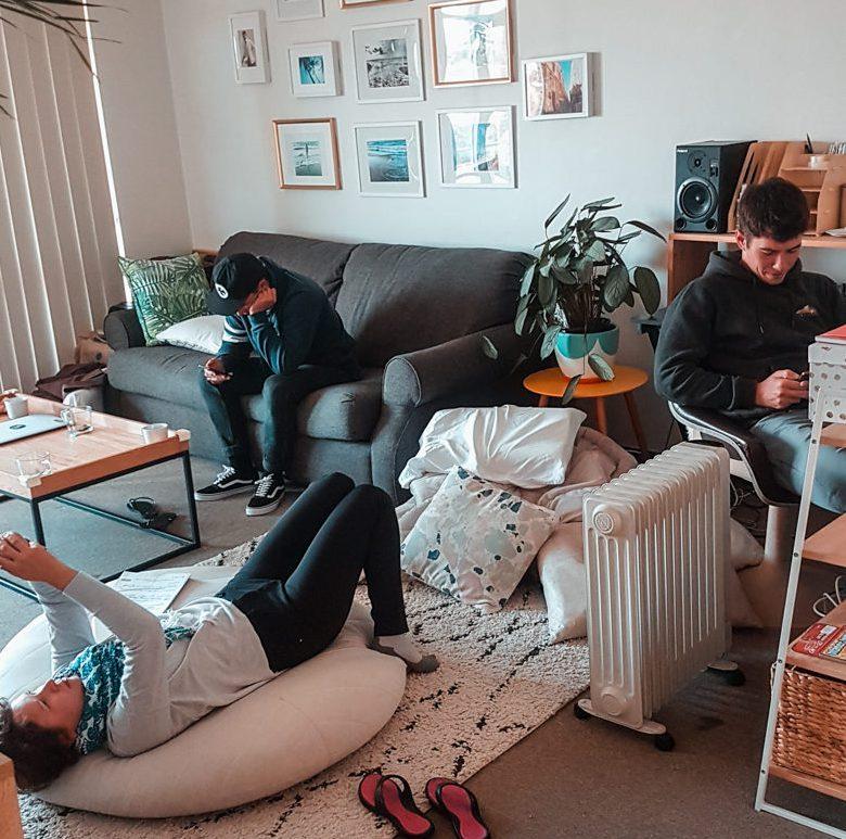 Chillen in der AirBnB Wohnung in Sydney