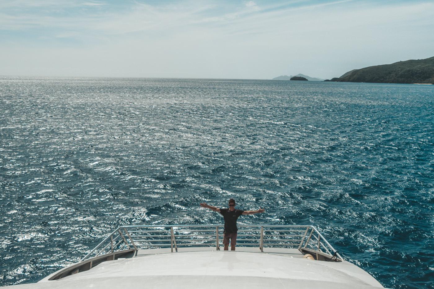 Mit dem Yasawa Flyer unterwegs zwischen den Inselns