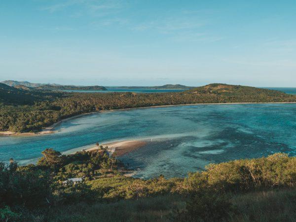 Ausblick von Goat Island, Yasawa