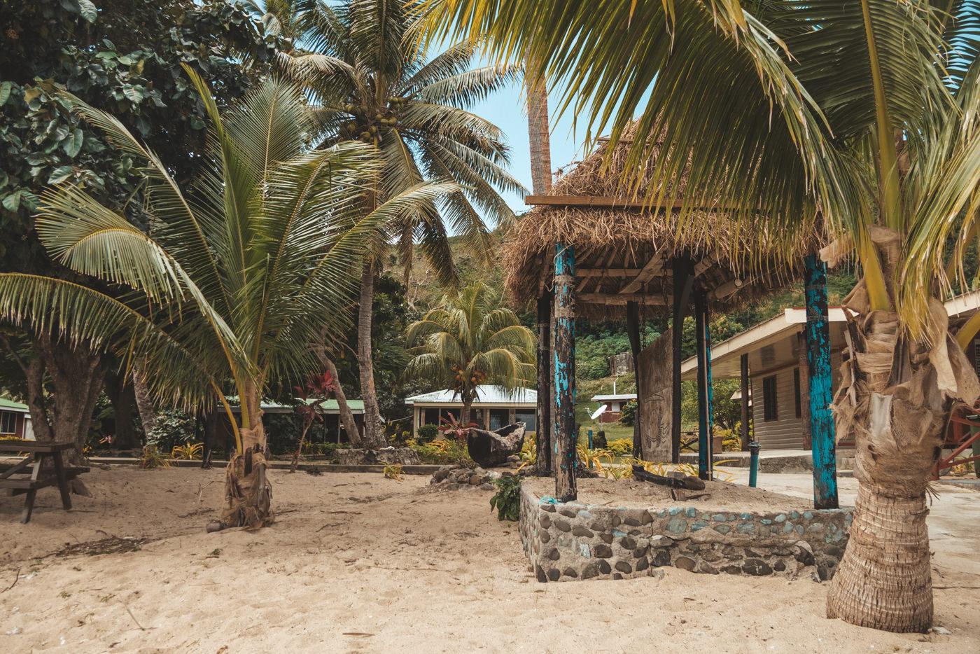 Unterkünfte auf den Fidschi Inselns