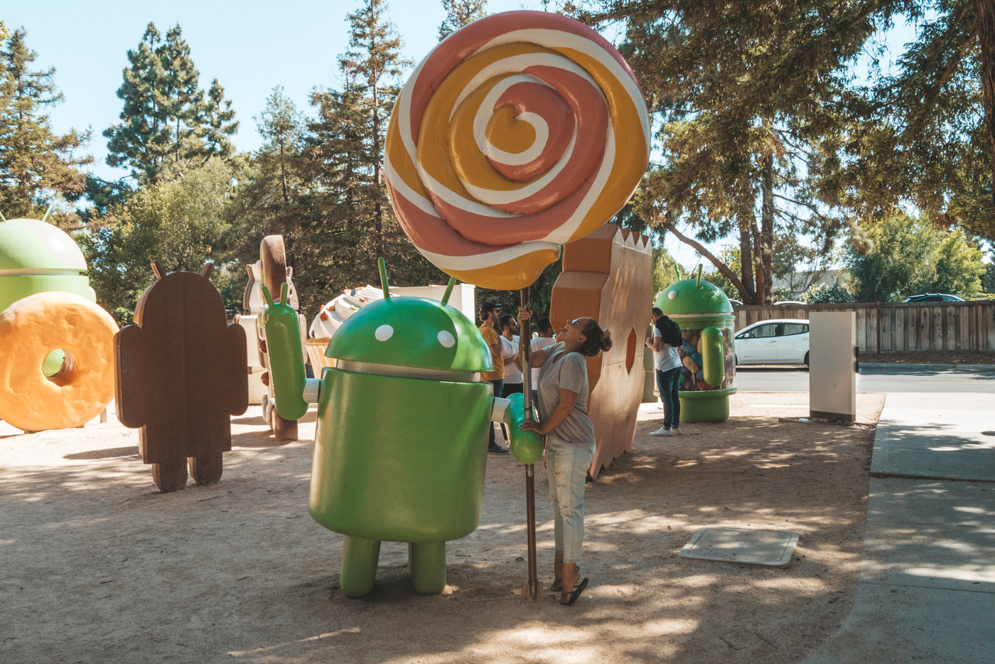 Julia und Android Lollipop im Sillicon Valley