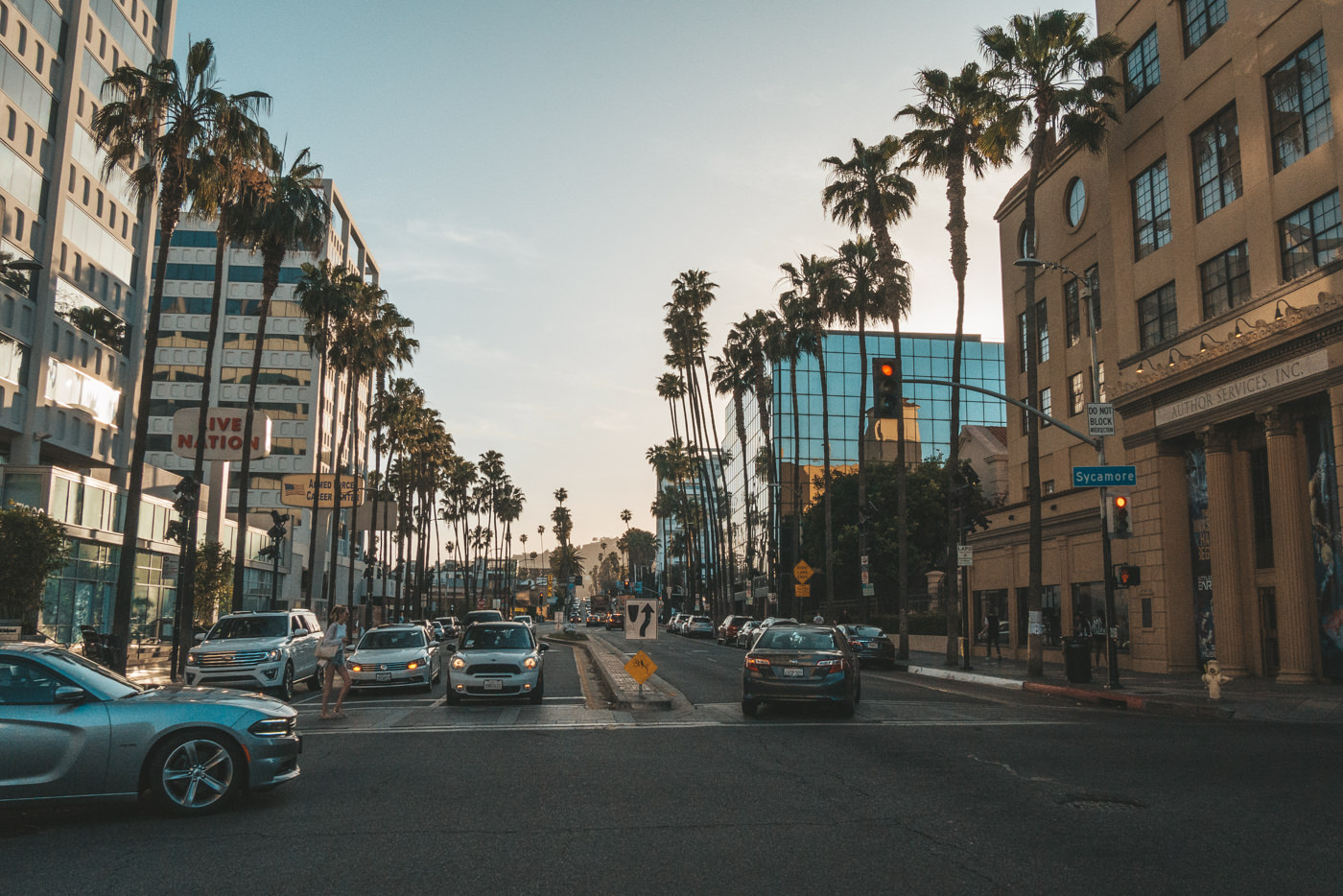 Straße in Los Angeles