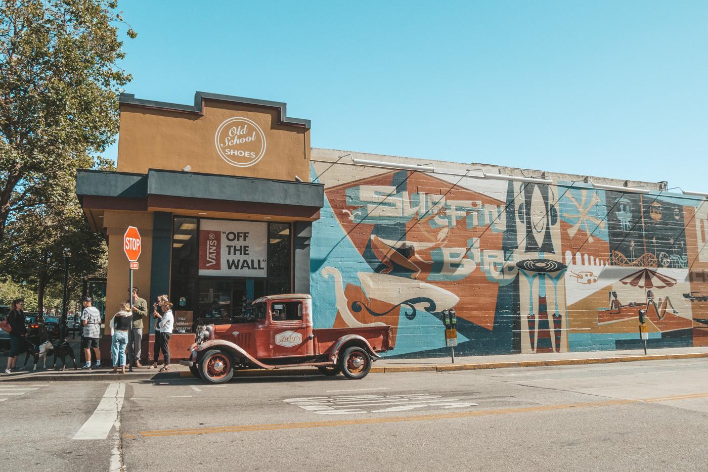 Mural in Santa Cruz