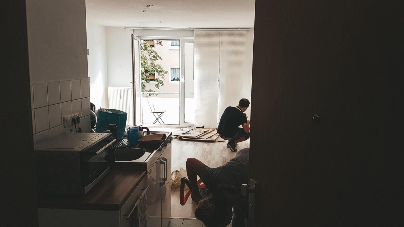 Wohnung gekündigt für die Weltreise