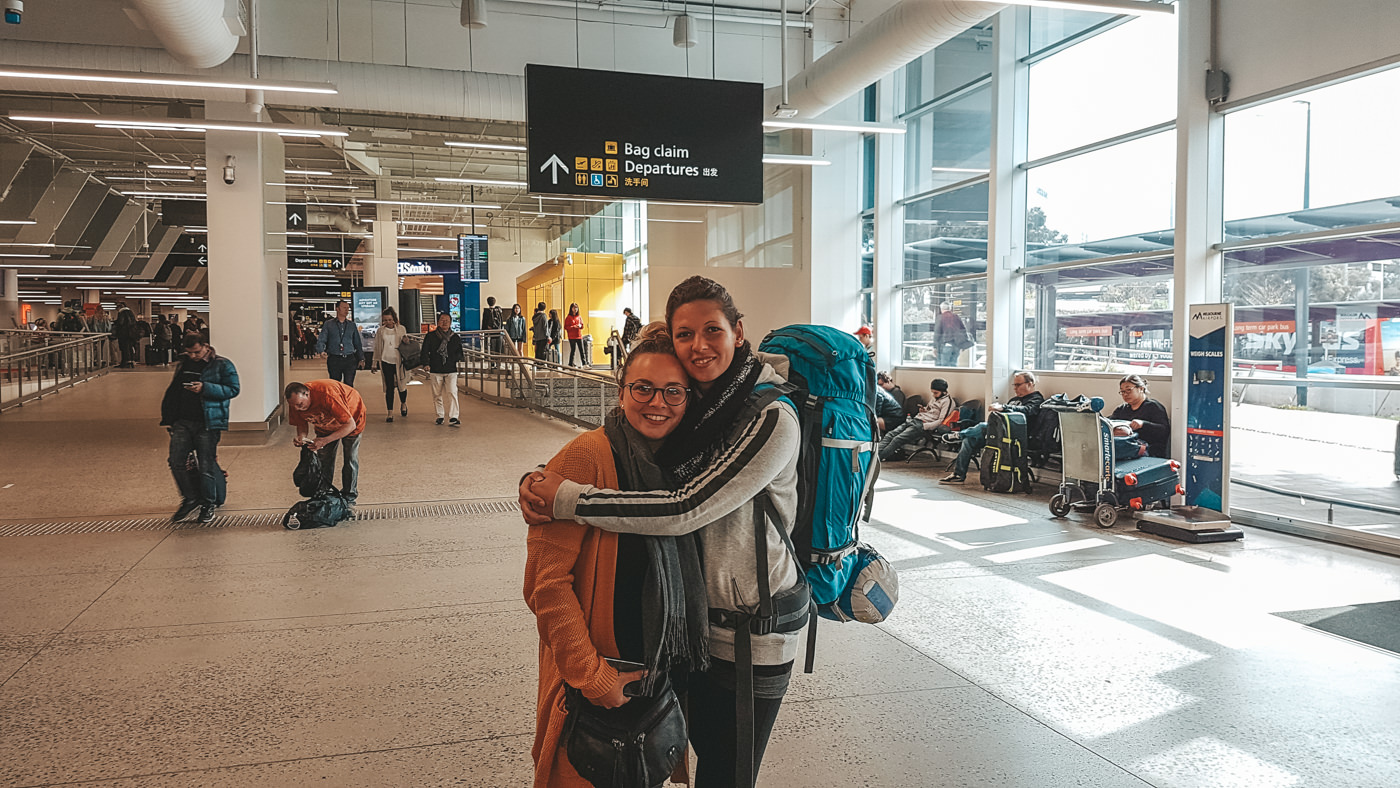 Wiedersehen am Flughafen