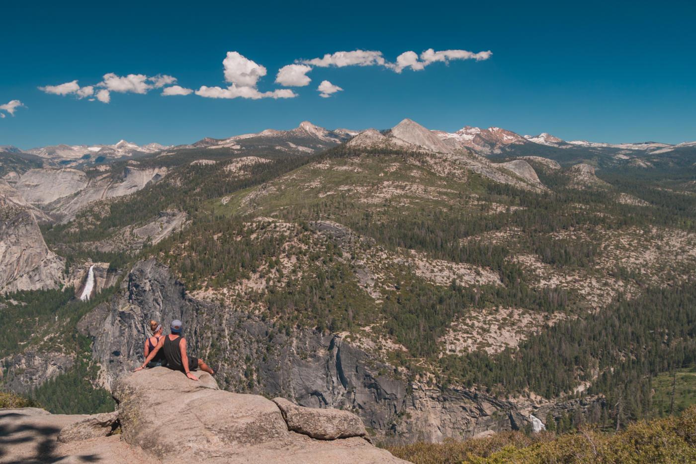 Wir im Yosemite Nationalpark