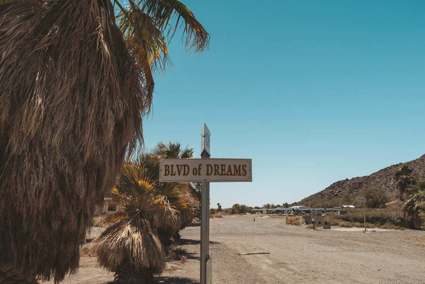 Blvd of Dreams in Nevada