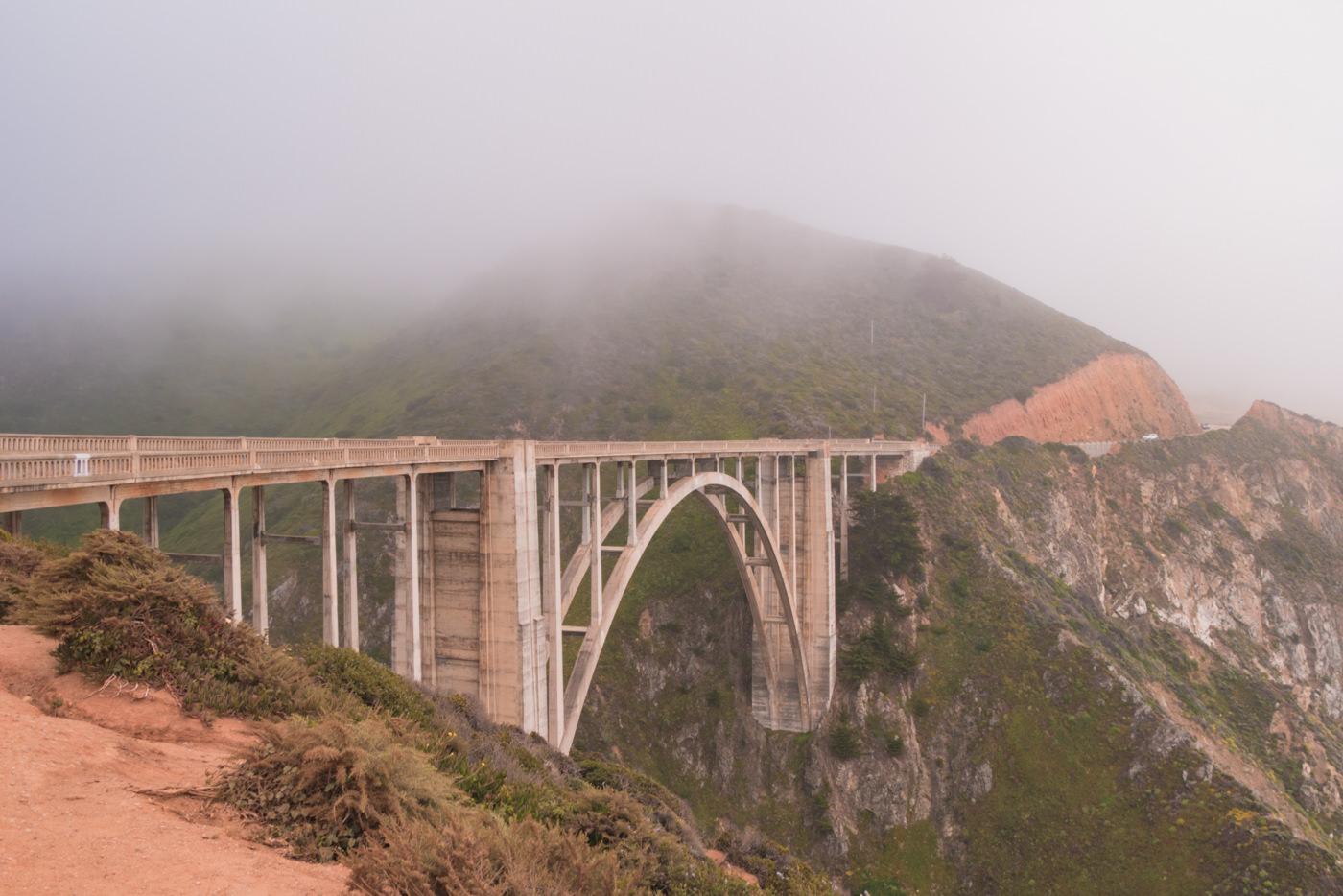 Bixby Creek Brücke in Kalifornien