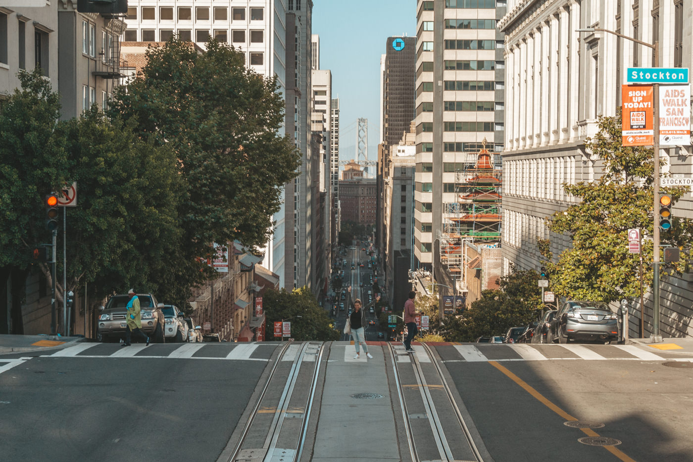 Julia in San Francisco