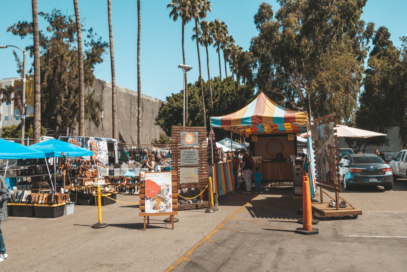 Flohmarkt in Los Angeles