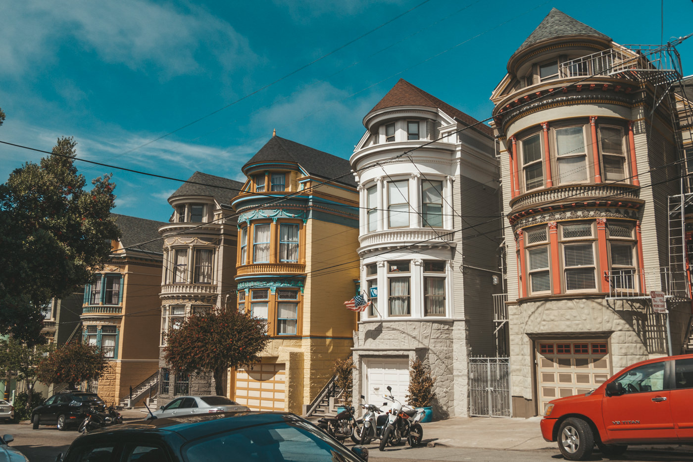 Häuser in San Francisco