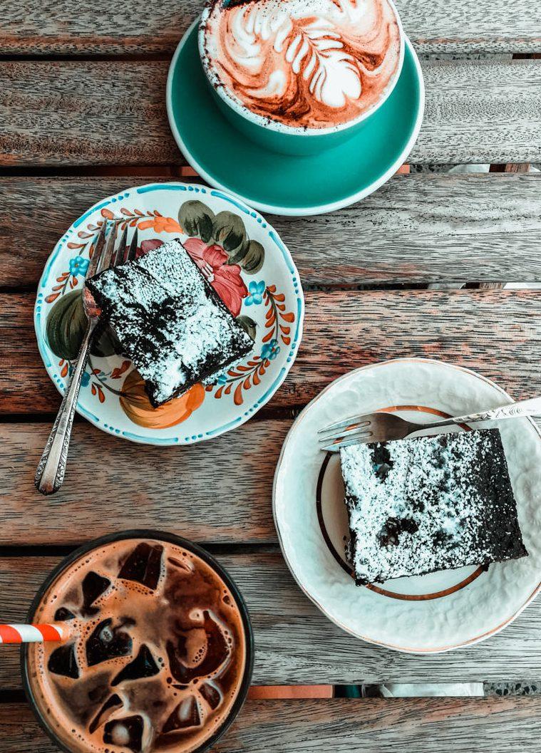 Kaffee und Kuchen im Flora & Fauna in Perth