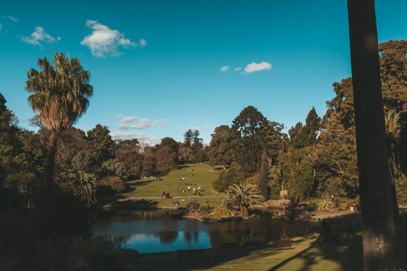 Botanischer Garten in Melbourne