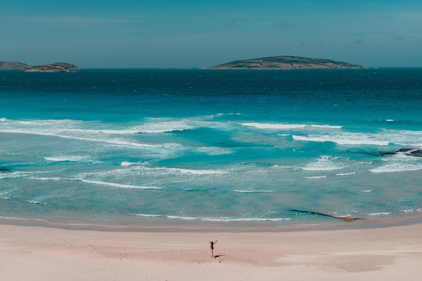 Ausblick aufs Meer bei Esperance in Australien