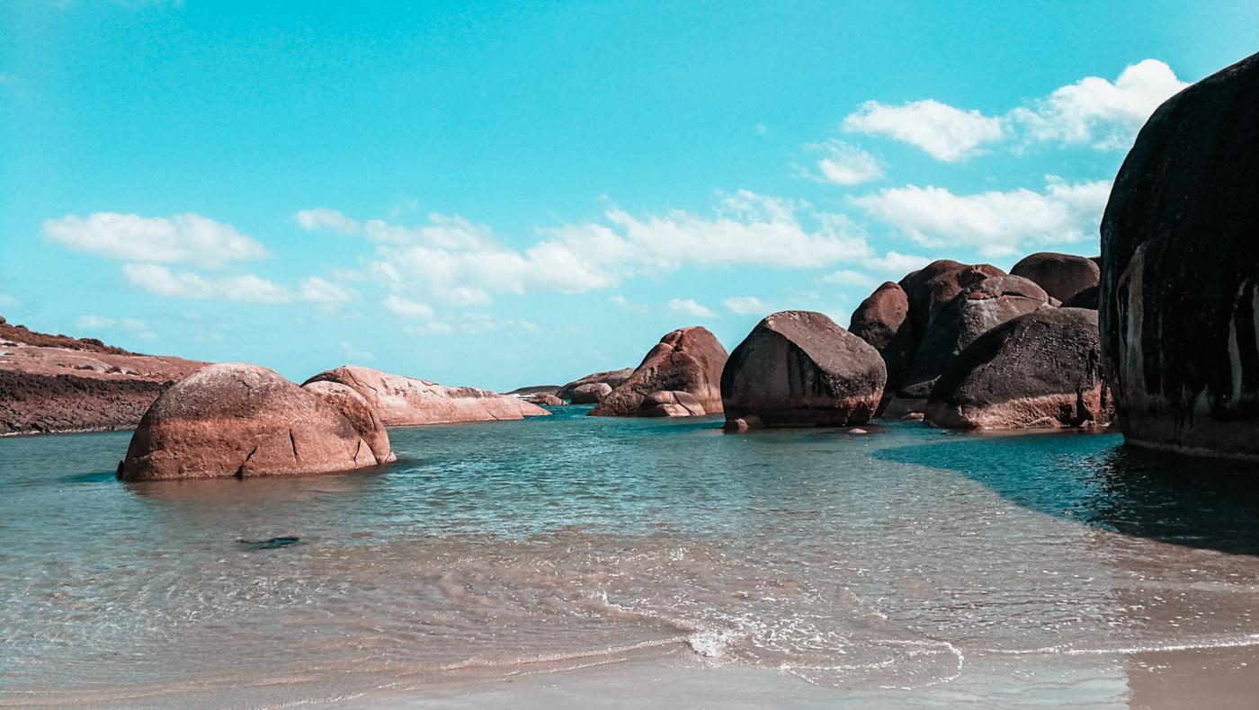 Elephant Rocks in Australien