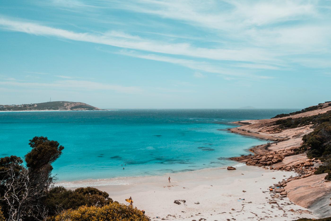 Blue Heaven Strand in Westaustralien