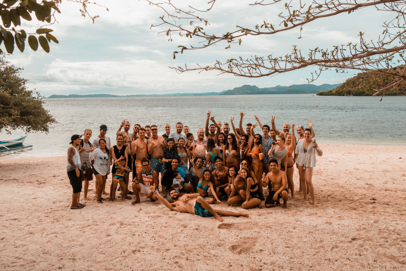 Geburtstag auf Calambuyan Island
