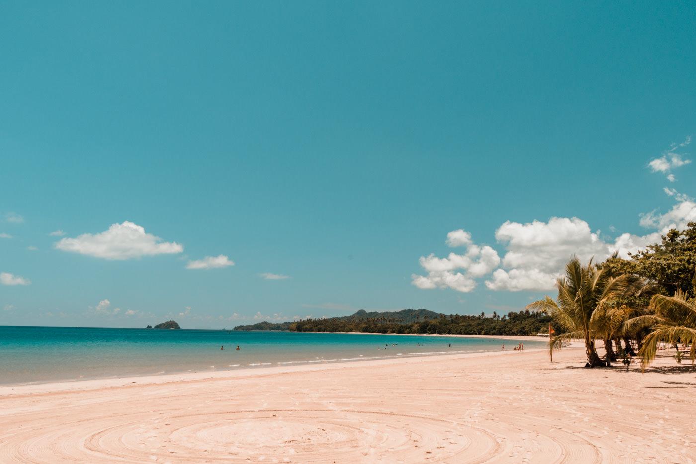 Lio Beach bei El Nido auf den Philippinen